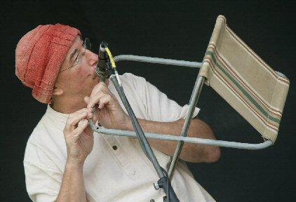 camping stool flute