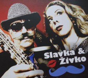 cd case -Slavka & Živko